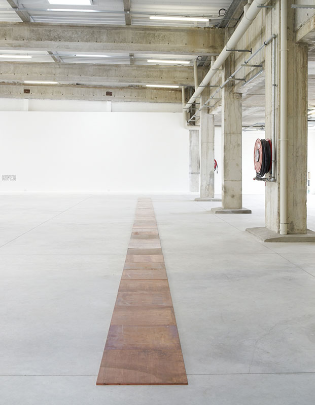 <p>Carl Andre</p>